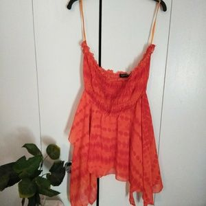 Tops - Milage Plus Size Strapless Blouse...